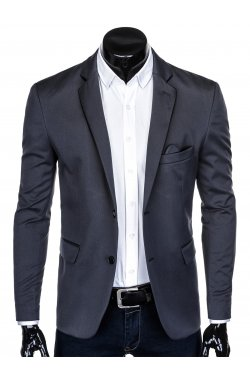 Пиджак мужской P134 - Темно- Серый