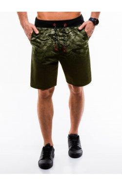 Шорты мужские W172 - зеленый