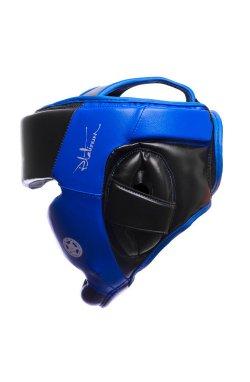 Боксерський шлем тренировочный PowerPlay 3031 Platinum Сине-Чорний