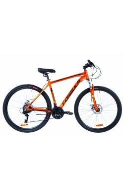 """Велосипед 29"""" Formula THOR 2.0 DD 2019 (оранжево-черный с бирюзовым)"""