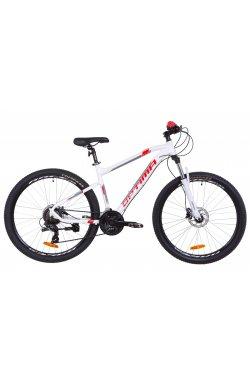 "Велосипед 27.5"" Optimabikes F-1 HDD 2019 (бело-красный)"