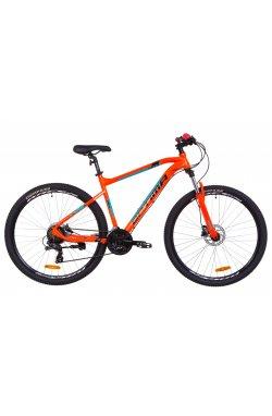 "Велосипед 29"" Optimabikes F-1 HDD 2019 (оранжево-бирюзовый)"