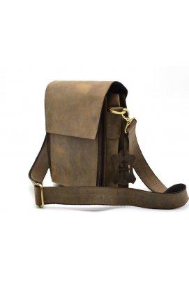 Мужская сумка через плечо RC-3027-3md TARWA, из натуральной кожи Коричневый