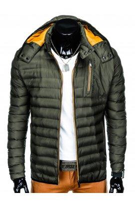 Куртка мужская демисезонная стеганая K362 - хаки