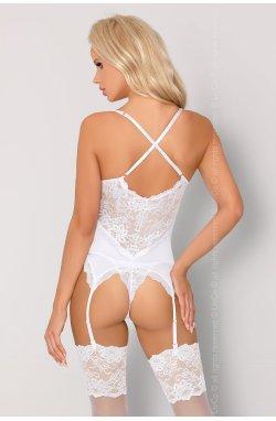 Alazne white Livia Corsetti Fashion