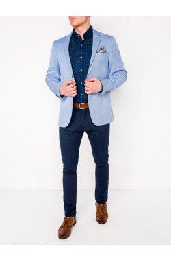 Пиджак мужской P97 - светло - Синий