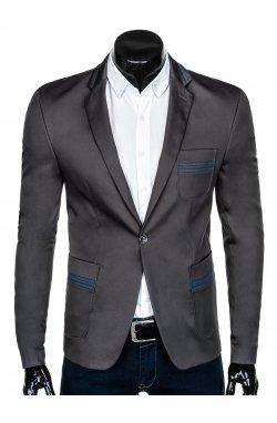 Пиджак мужской P127 - Темно- Серый