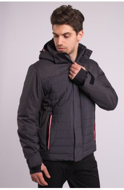 Куртка лыжная 70283-AV Темно-серый