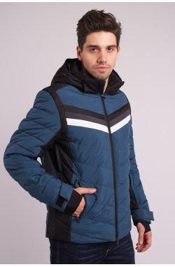Куртка лыжная 70285-AV Серо-синий