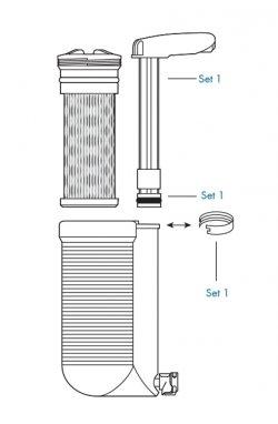 Ручка насоса для фильтра Katadyn Hiker Pro Pump Handle Kit 2