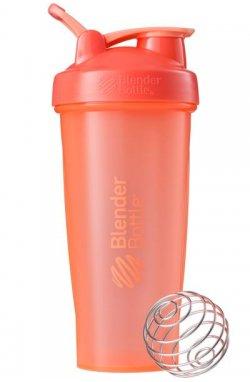 Спортивный шейкер BlenderBottle Classic oop 820ml Coral (ORIGINAL)