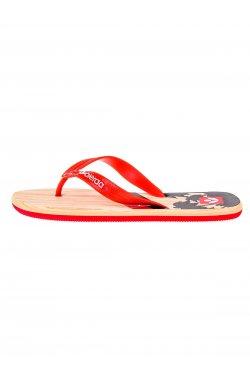 Men's flip-flops T148 - красный
