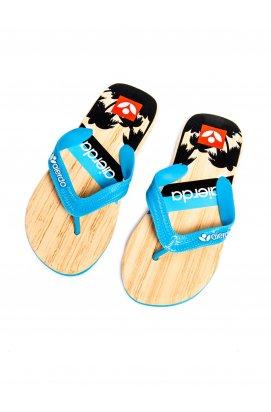 Men's flip-flops T148 - светло - голубой
