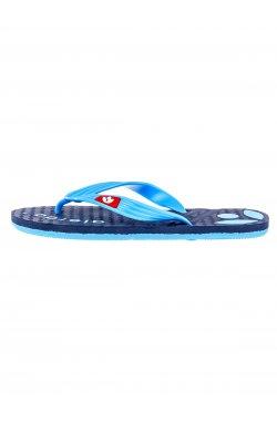 Men's flip-flops T125 - Синий
