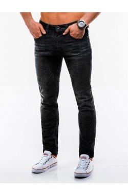 Spodnie męskie jeansowe P833 - Черный
