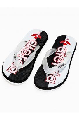Men's t-bar sandals T289 - Белый