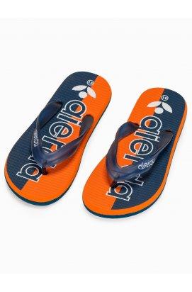 Men's t-bar sandals T289 - оранжевый
