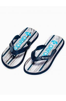 Men's t-bar sandals T288 - Синий