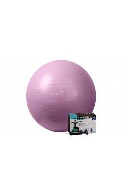 Мяч для фитнеса PowerPlay 4001 75см Фіолетовий + насос