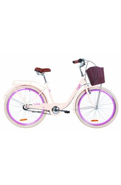 "Велосипед 26"" Dorozhnik LUX PH 2019 (бежевый)"