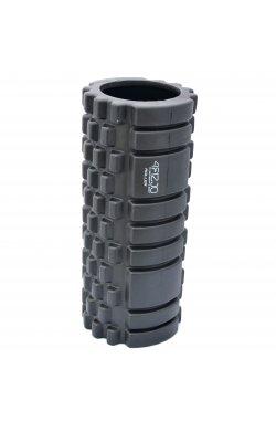Массажный ролик (валик, роллер) 4FIZJO 33 x 14 см 4FJ0025 Black