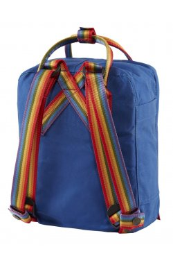 Kanken Rainbow Mini Deep Blue/Rainbow Pattern