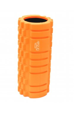 Массажный ролик (валик, роллер) 4FIZJO 33 x 14 см 4FJ0027 Orange