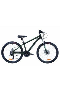 """Велосипед 26"""" Formula THOR 2.0 DD 2019 (черно-серый с бирюзовым (м))"""