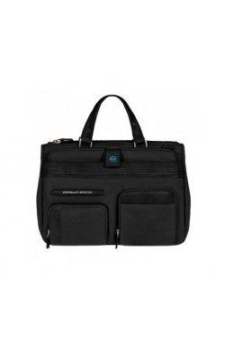 Портфель Piquadro SIGNO с отделением для iPad или ноутбука с чехлом для ноутбука и косметичкой (37x26,5x12,5) BD2969SI_N