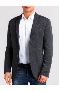 Пиджак мужской кэжуал P103 - Серый