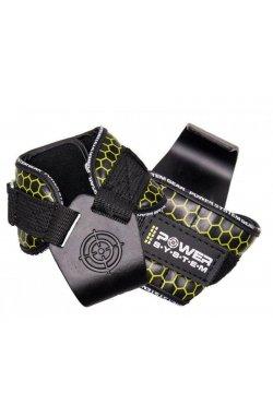 Крюки для тяги на запястья Power System Hooks V2 PS-3360 Black/Yellow