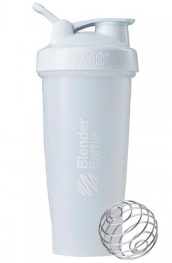 Спортивный шейкер BlenderBottle Classic oop 820ml White (ORIGINAL)
