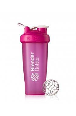 Спортивный шейкер BlenderBottle Classic oop 820ml Pink (ORIGINAL)