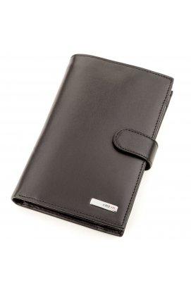 Кошелек мужской KARYA 17231 кожаный Черный, Черный