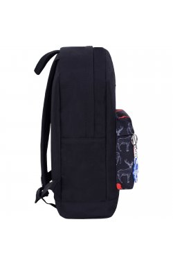 Рюкзак Bagland Молодежный W/R 17 л. черний 471 (00533662)