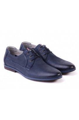Туфли мужские Carlo Delari 7151069 цвет тёмно-синий