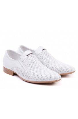 Туфли мужские Clemento 7152604 цвет белый, кожа