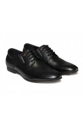 Туфли мужские Carlo Delari 7161326 цвет черный, кожа