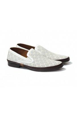 Туфли мужские Roberto Paulo 7132646 цвет белый, кожа