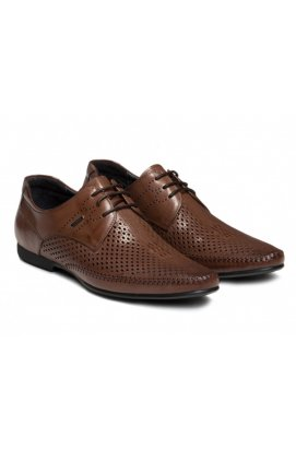 Туфли мужские Carlo Delari 7152065 цвет кофейный, кожа