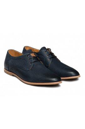Туфли мужские Carlo Delari 7152081 цвет тёмно-синий