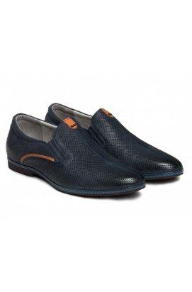 Туфли мужские Carlo Delari 7152097 цвет тёмно-синий
