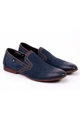 Туфли мужские Roberto Paulo 7151526 цвет тёмно-синий