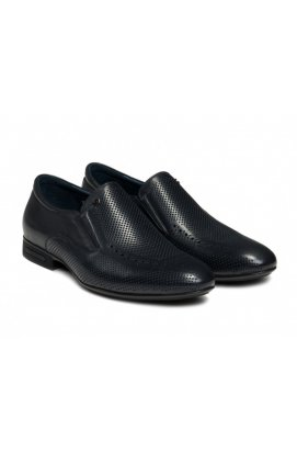 Туфли мужские Clemento 7162631 цвет тёмно-синий, кожа