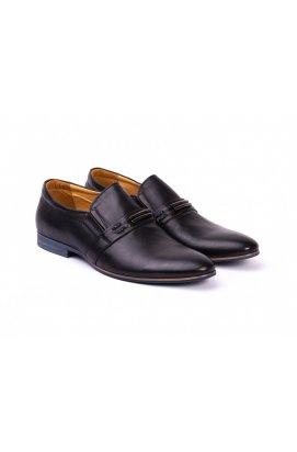 Туфли мужские Carlo Delari 7141020 цвет черный, кожа