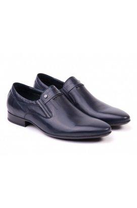 Туфли мужские Clemento 7151613 цвет тёмно-синий, кожа