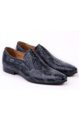 Туфли мужские Roberto Paulo 7151522 цвет тёмно-синий