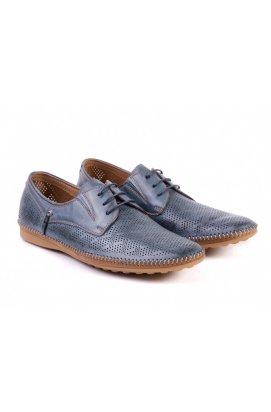Туфли мужские Roberto Paulo 7142587 цвет синий