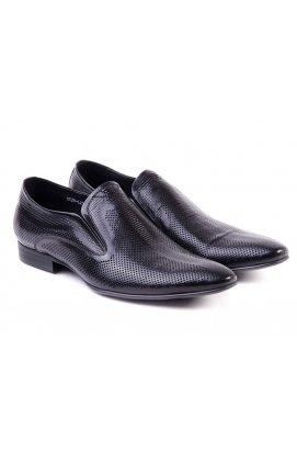 Туфли мужские Carlo Delari 7142166 цвет черный, кожа