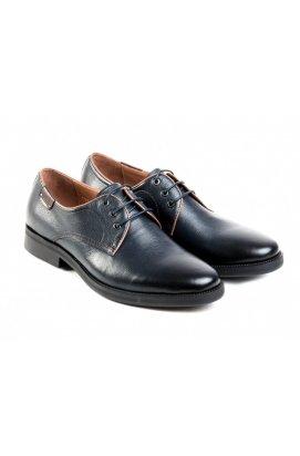Туфли мужские Carlo Delari 7163016 цвет тёмно-синий